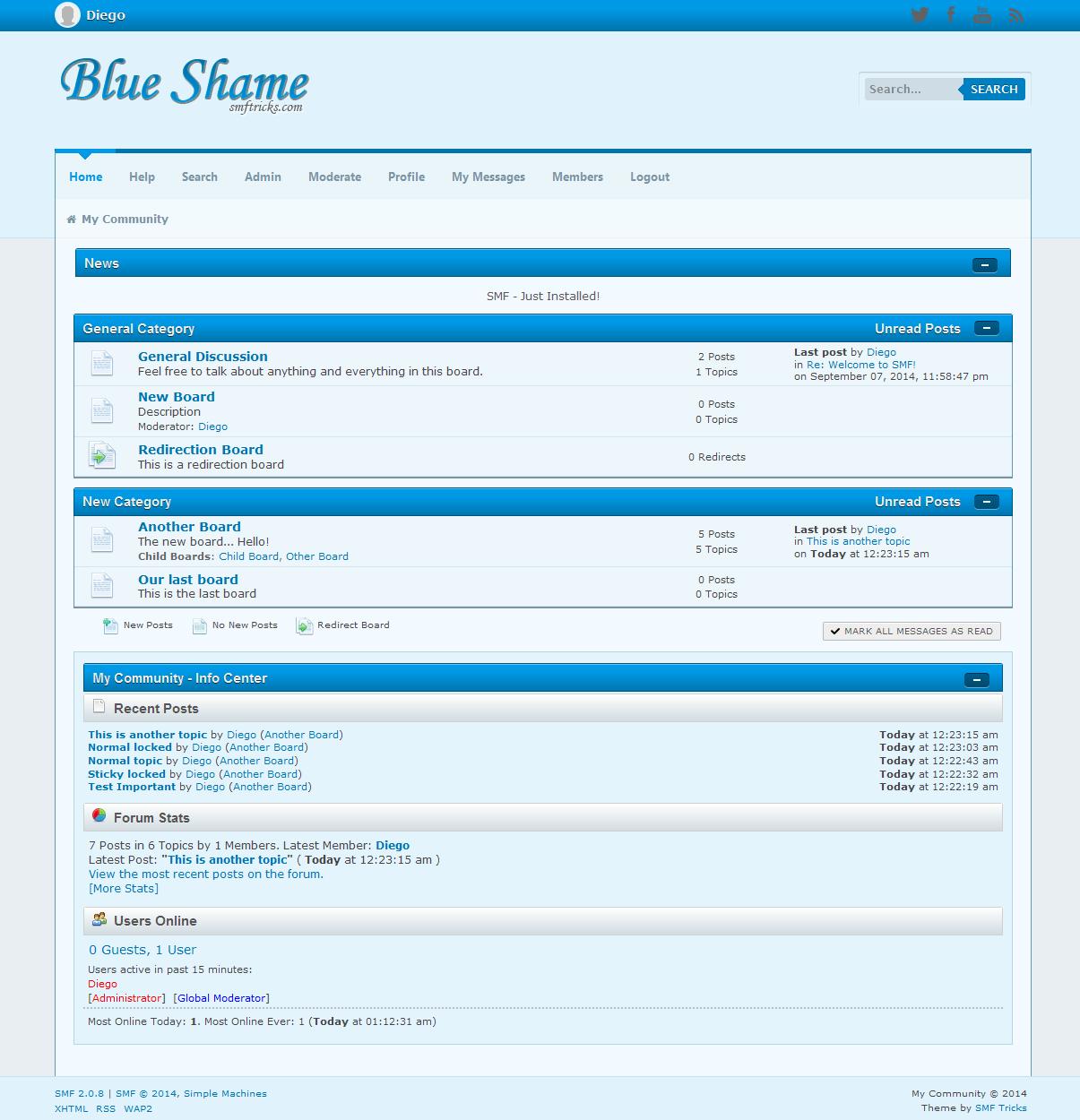 Blue Shame